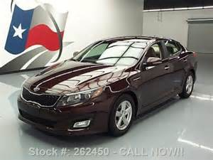 2014 Kia Optima Cherry Find Used 2014 Kia Optima Lx Gdi Automatic Cherry 25k