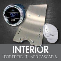 Freightliner Cascadia Interior Accessories by Semi Truck Parts For Freightliner Cascadia 4 State Trucks