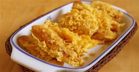 cara membuat kentang goreng rangup hasilkan tepung goreng pisang yang rangup