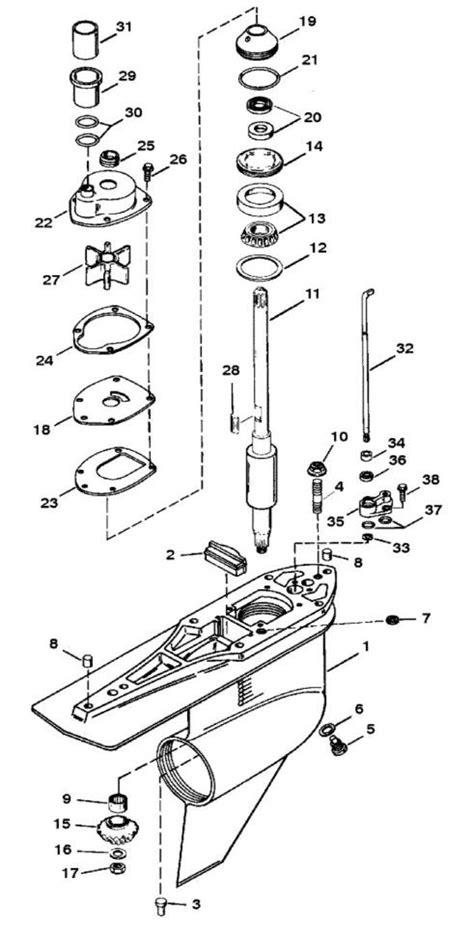 mercruiser alpha one outdrive parts diagram mercruiser alpha one ii