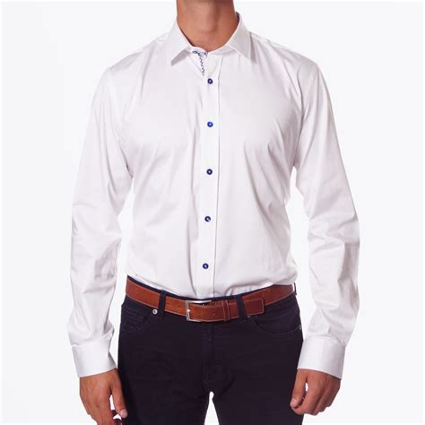 Shirts For White Stretch Shirt Mens Designer Shirts One Like No Other