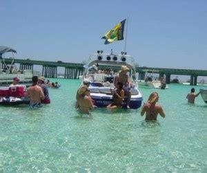 destin boat rental crab island crab island time crab island boat rentalsdestin florida golf
