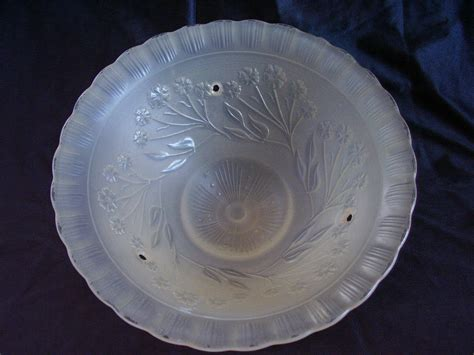 Ceiling Glass Shade by Vintage Glass Ceiling Shade L 3 Vintage