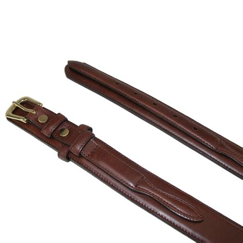 mens leather 1 3 8 inch ranger belt by 3 d belt company
