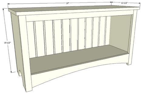 mudroom bench depth pdf mudroom bench dimensions plans free