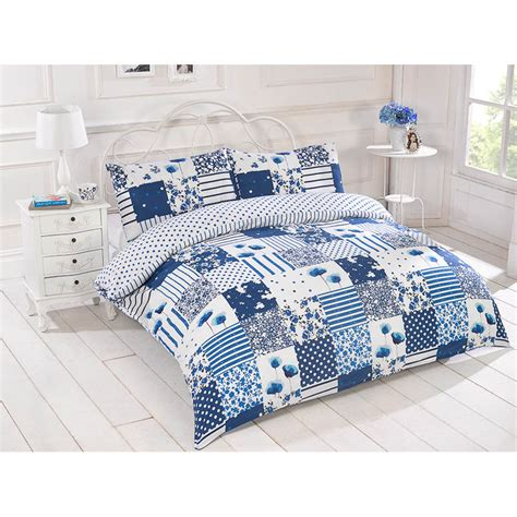 Patchwork Duvet Cover Uk - b m bright patchwork duvet set king bedding bed set