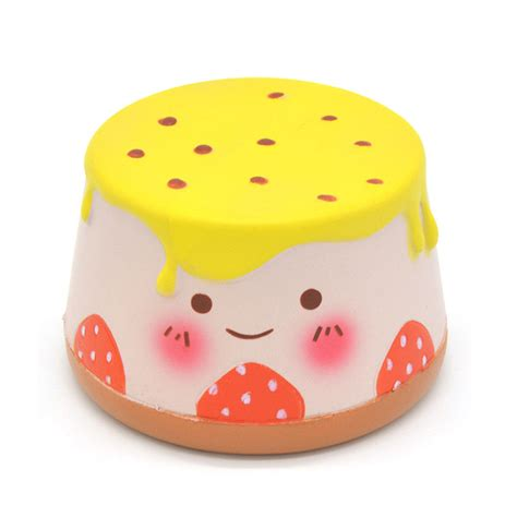 10cm areedy pudding squishy rising scented