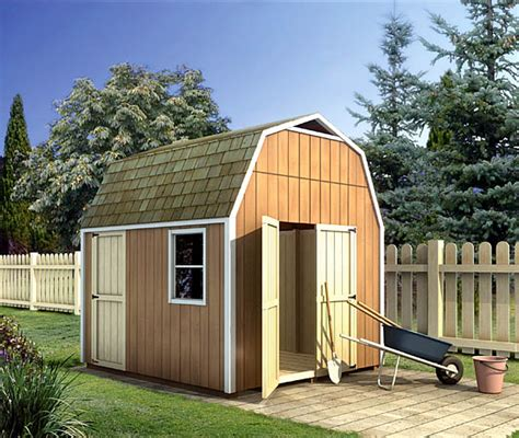 project plan 90028 gambrel shed