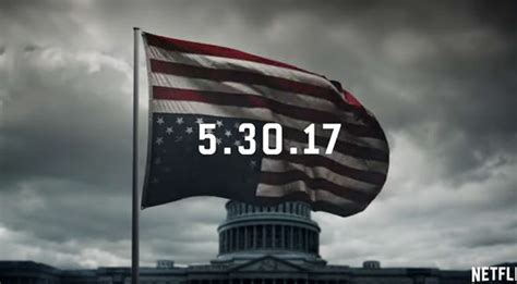 house of cards trailer house of cards season 5 trailer and return date confirmed during trump s