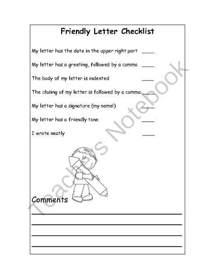business letter format 5th grade friendly letter exles 5th grade friendly letter