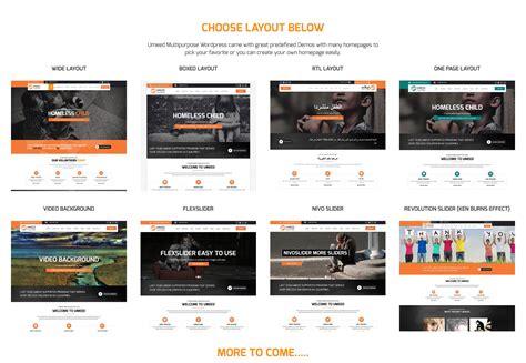 select layout wordpress umeed charity wordpress multipurpose theme wordpress
