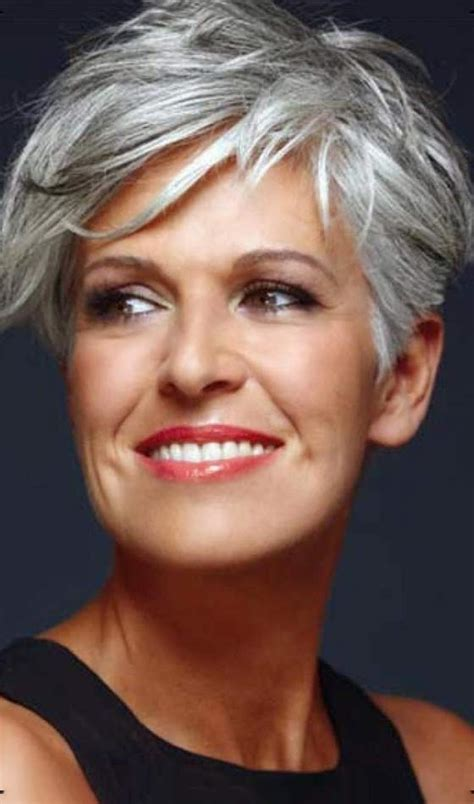 platinum hair older woman 50 short and stylish hairstyles for women over 50 gossip