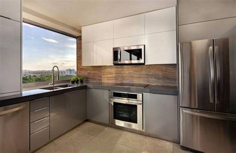houzz modern luxury apartment kitchen decobizz com