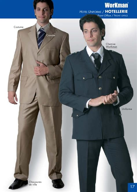 uniforme femme de chambre catalogue stid workman