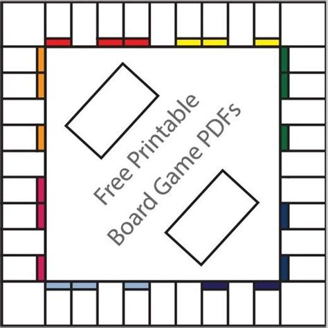 board template with cards 16 free printable board templates esl monopoly