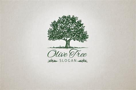 Minimal Furniture Design Olive Tree Logo Logo Templates Creative Market