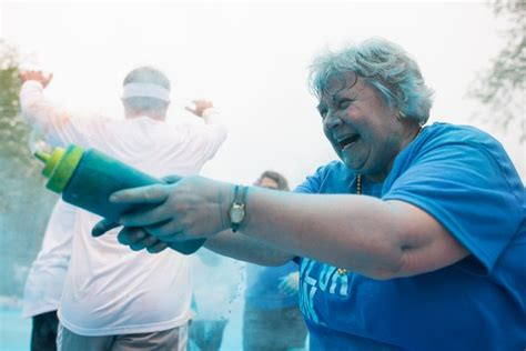 images from the color run ypsilanti