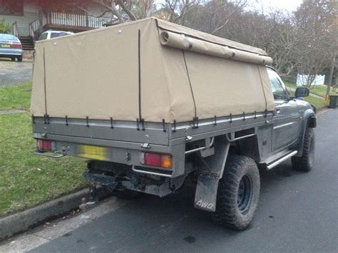 canapé modulables frame canvas ute canopy for tray back utes requiring