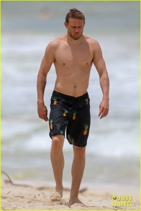 charlie hunnam beach charlie hunnam puts his hot shirtless body on display at