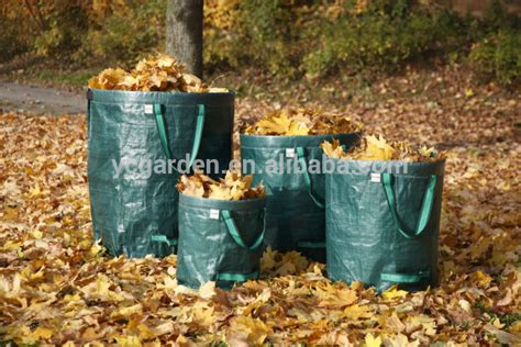Gardeners Supply Leaf Collector Tripod Leaf Collector Garden Waste Bag With Factory Price