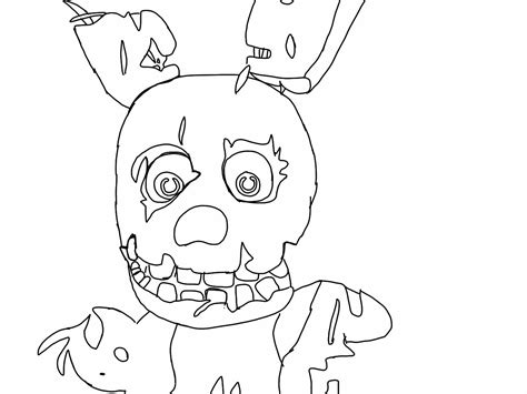 Fnaf 1 Coloring Pages by Gmod Fnaf Free Colouring Pages