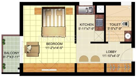 550 sq ft 1 bhk floor plan image dasnac designarch e 550 sq ft 1 bhk 1t apartment for sale in ansal api sushant