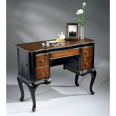 Wood Makeup Vanity by Butler Specialty Artists Originals Wood Makeup Vanity