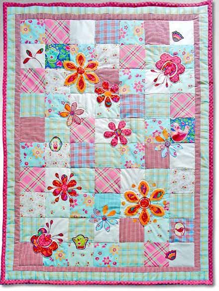Patchwork Quilts For Children - patchwork on patchwork cushion triangle
