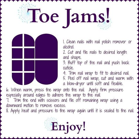 printable jamberry instructions here are some basic instructions for applying your jam