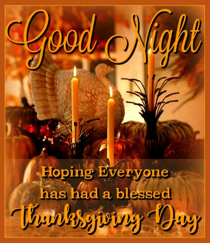 goodnight hope    blessed thanksgiving day pictures   images  facebook
