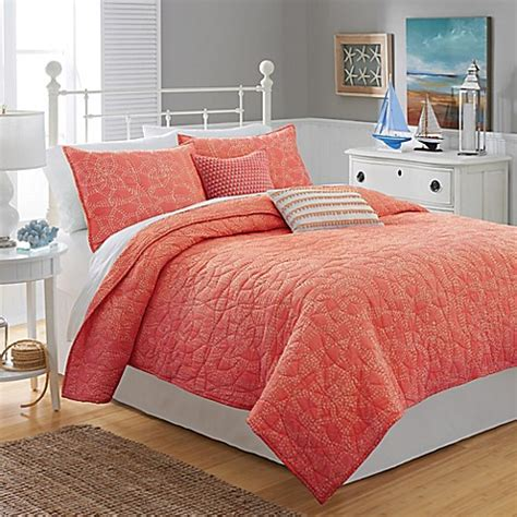farbige steppdecken buy southern tide 174 lagoon quilt in coral from