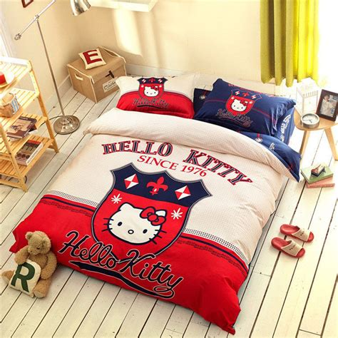 Hello Kitty 4 Piece Toddler Bedding Set 4 Hello Hello Hello Bedding