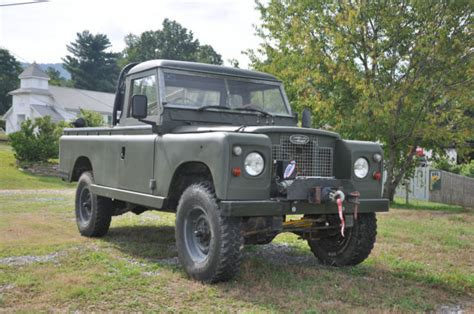 land rover 109 one ton up truck