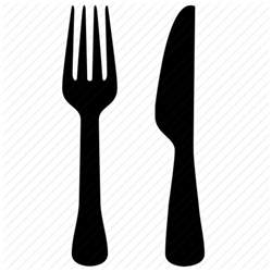 dish fork kitchen knife icon icon search engine vintage kitchen clip art fork knife spoon the