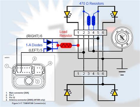 should load resistors get led turn signal resistor wiring diagram led load resistor wiring diagram