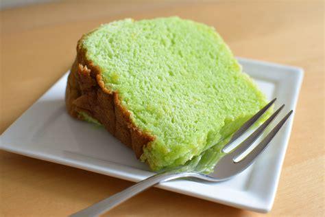 Cake Pandan pillowy pandan chiffon cake cake is the new black
