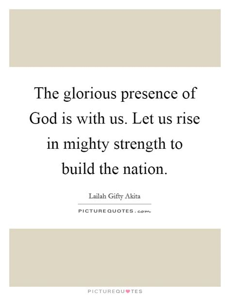 your god is glorious finding god in the most places books the glorious presence of god is with us let us rise in