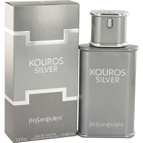 Parfum Silver Original kouros silver cologne for by yves laurent