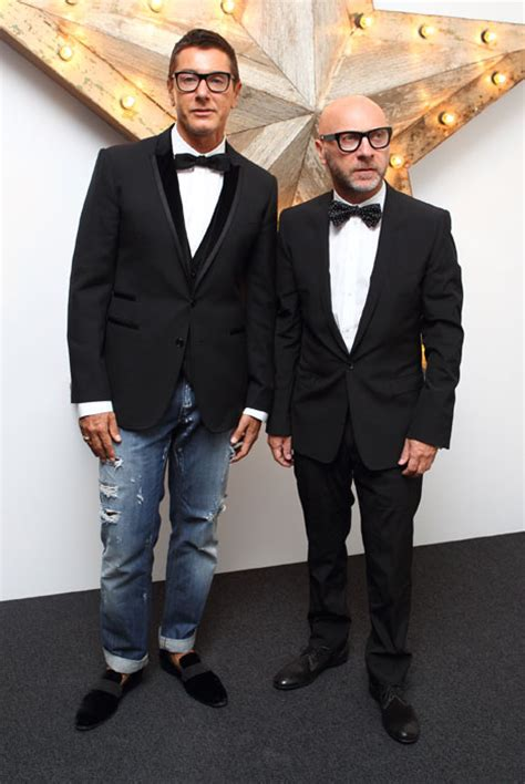 Who Wore Dolce Gabbana Better George Or Rowland by Supports Pals Dolce Gabbana At Studded