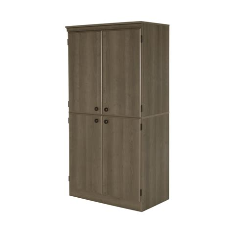 4 door storage cabinet south shore 7246971 4 door storage cabinet