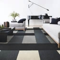 Bien Tapis Moderne Pour Salon #6: Design-tapis-pour-salon-moderne-int%C3%A9rieur-cont%C3%A9mporaine-noir-et-blanc.jpg