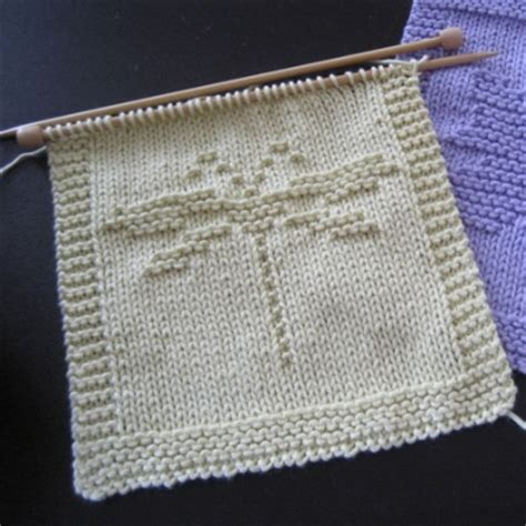 dragonfly knitting pattern southern fried goodness dragonfly washcloth free