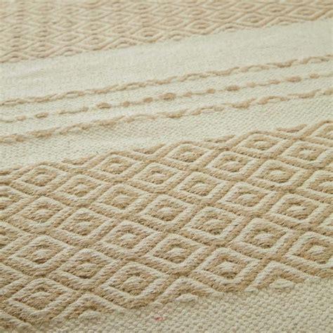 tappeto bianco tappeto bianco beige white 140 x 200 maisons du monde