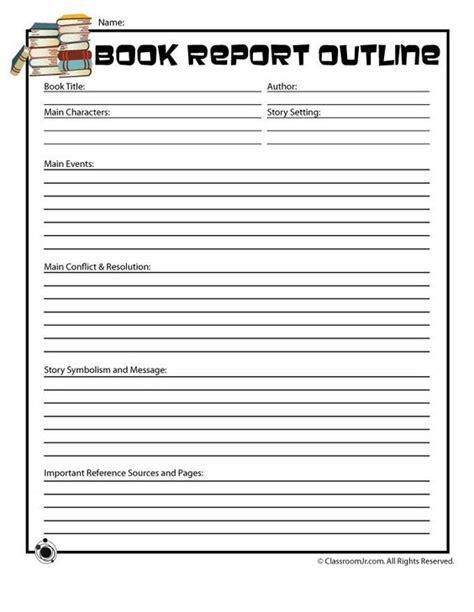 5th grade book report exle book reports 5th grades and grade books on