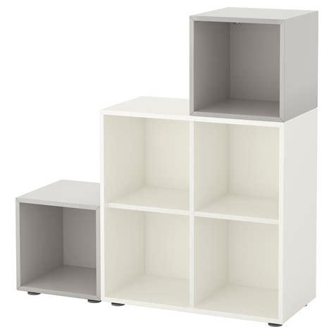 eket ikea eket cabinet combination with feet white light grey