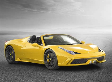 Ferrari 458 Spider Speciale by Ferrari 458 Speciale Spider To Be Limited To 458 Units