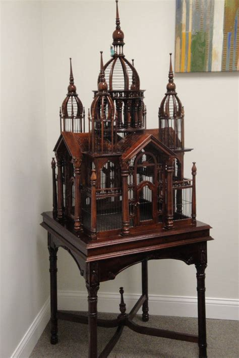 antique victorian style bird cage house ebay
