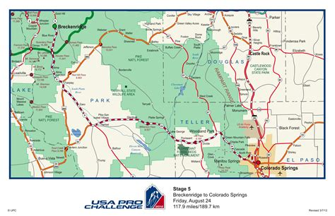 colorado springs routes map usa pro cycling challenge 2012 route released west elk