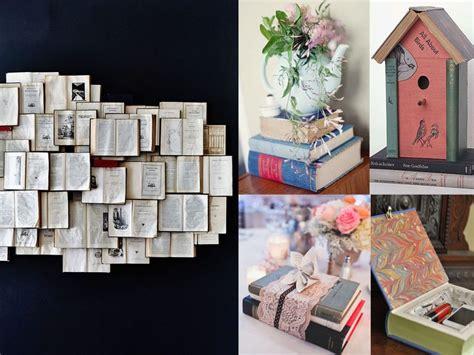 imagenes originales libros 7 ideas originales para decorar con libros
