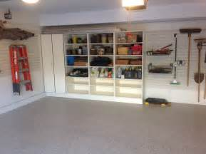 small garages require simple storage solutions